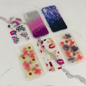 I-phone X summer cases set of 6 new